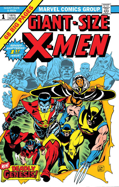 Giant Size X-Men #01 (Facsimile Edition)