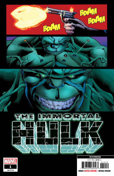 Immortal Hulk (2018) #01 (5th Printing)