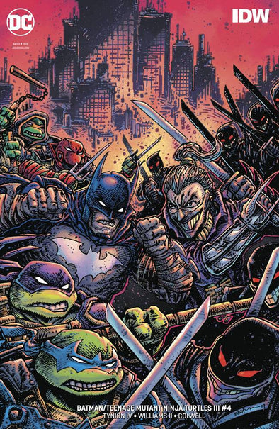 Batman/Teenage Mutant Ninja Turtles III (2019) #04 (Kevin Eastman Variant)
