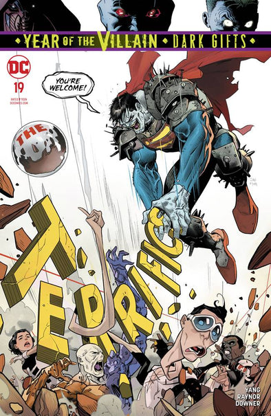 Terrifics (2018) #19 (YOTV Dark Gifts)