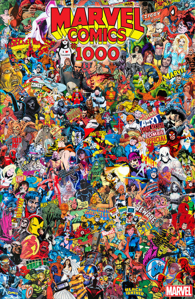 Marvel Comics (2019) #1000 (Mr. Garcin Collage Variant)