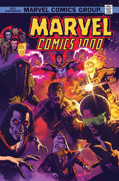 Marvel Comics (2019) #1000 (Greg Smallwood 70's Variant)