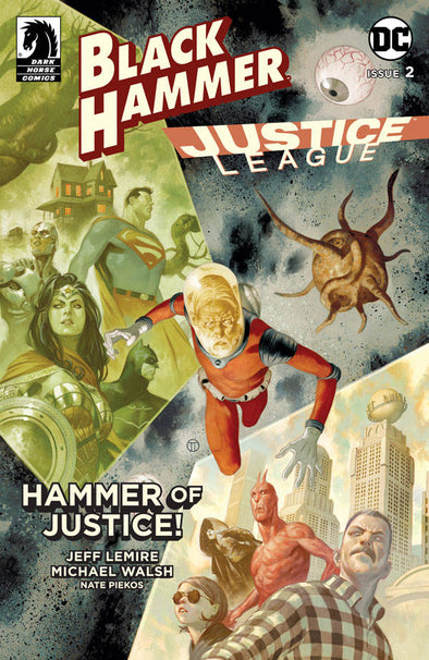 Black Hammer/Justice League (2019) #02 (Matteo Scalera Variant)