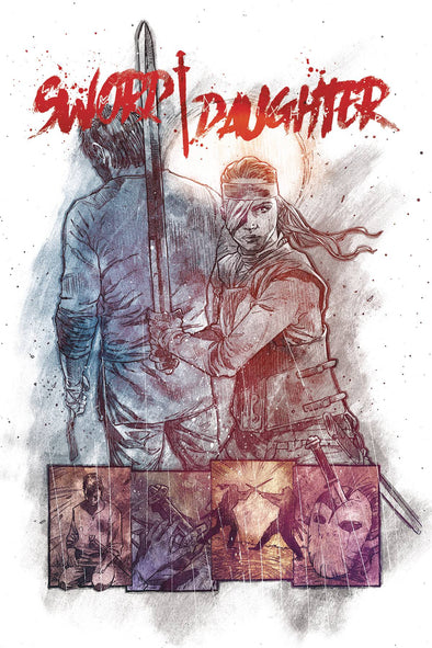 Sword Daughter (2018) #09 (Mack Chater Variant)