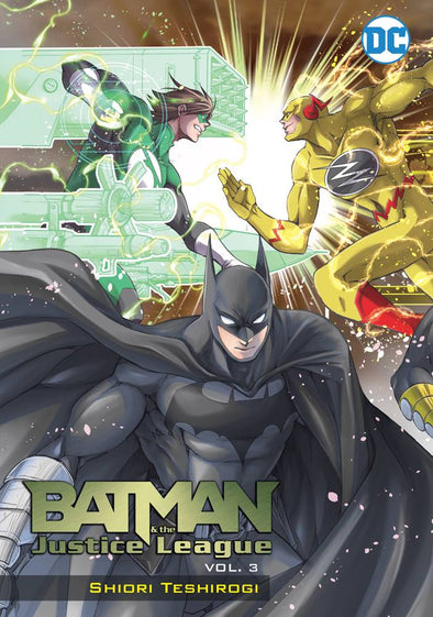 Batman and The Justice League Manga TP Vol. 03