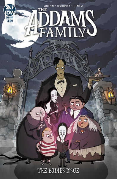 Adams Family: Bodies (2019) #01
