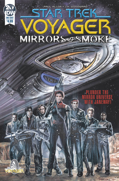 Star Trek Voyager Mirrors & Smoke (2019) #01
