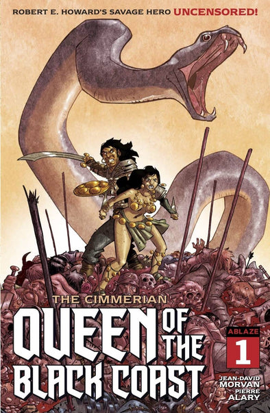 Cimmerian Queen of the Black Coast (2020) #01 (Pierre Alary Variant)