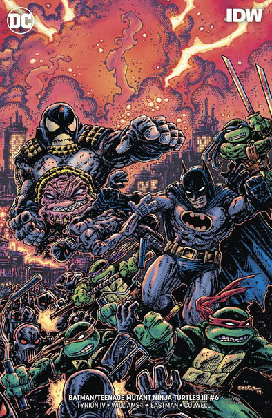 Batman/Teenage Mutant Ninja Turtles III (2019) #06 (Kevin Eastman Variant)