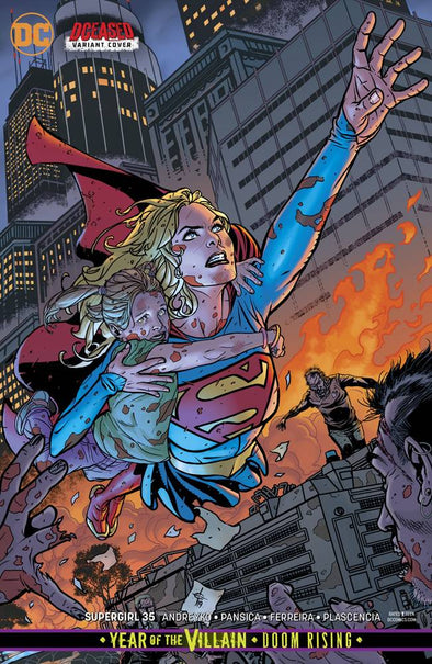 Supergirl (2016) #35 (YOTV) (Drew Johnson Variant)