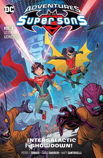 Adventures of the Super Sons (2018) TP Vol. 02: Little Monsters