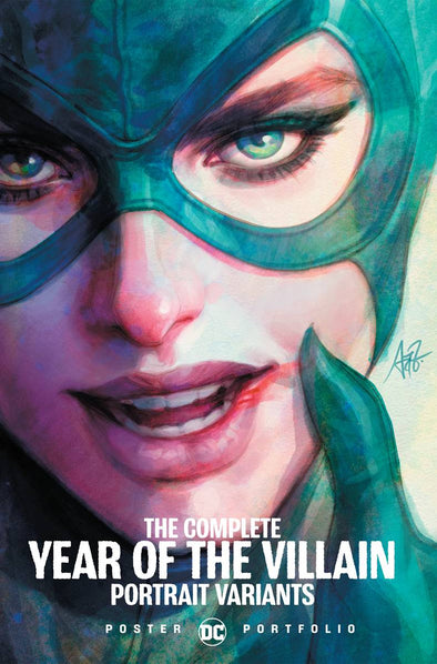 DC Poster Portfolio Complete Year of the Villain Poster Variants