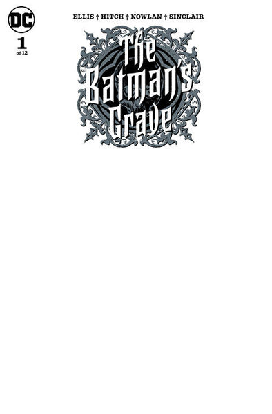 Batman's Grave (2019) #01 (of 12) (Blank Variant)