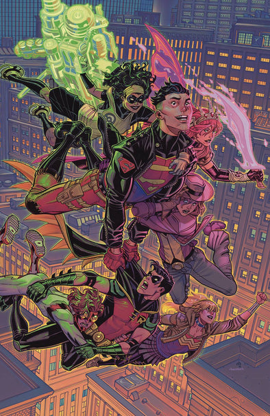 Young Justice (2019) #09 (Nick Bradshaw Variant)