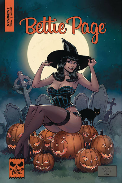 Bettie Page Halloween Special (2019) #01 (Reilly Brown Variant)