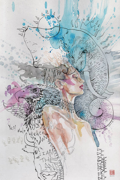 American Gods: The Moment of The Storm (2019) #07 (David Mack Variant)
