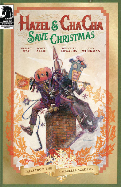 Hazel & Cha Cha Save Christmas (2019) #01