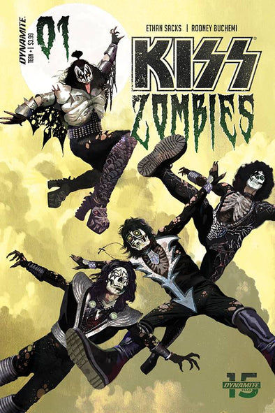 Kiss Zombies (2019) #01