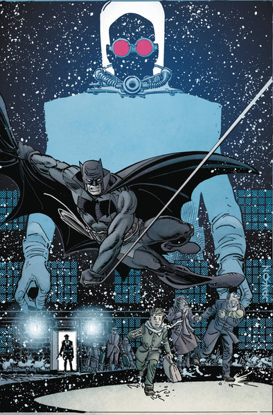 Batman White Knight Presents Von Freeze (2019) #01 (Klaus Janson Variant)