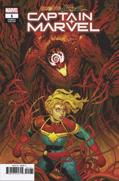 Absolute Carnage Captain Marvel (2019) #01 (Nick Bradshaw Variant)