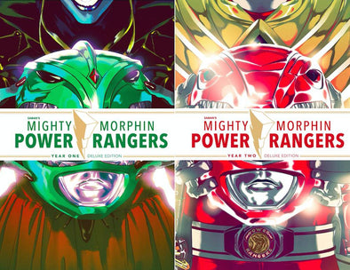 LCSD 2019 Mighty Morphin Power Rangers Year One & Year Two HC Set