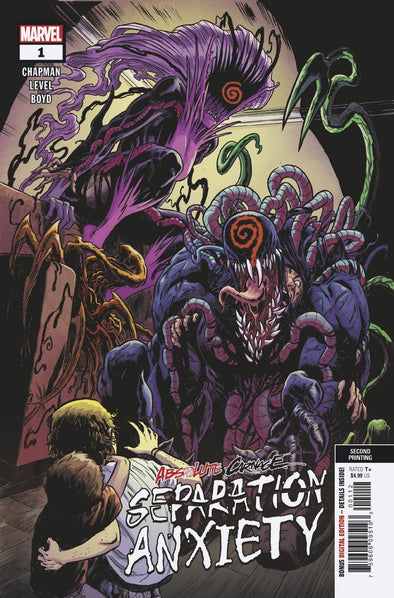 Absolute Carnage Separation Anxiety (2019) #01 (2nd Printing)