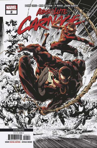 Absolute Carnage (2019) #02 (2nd Printing)