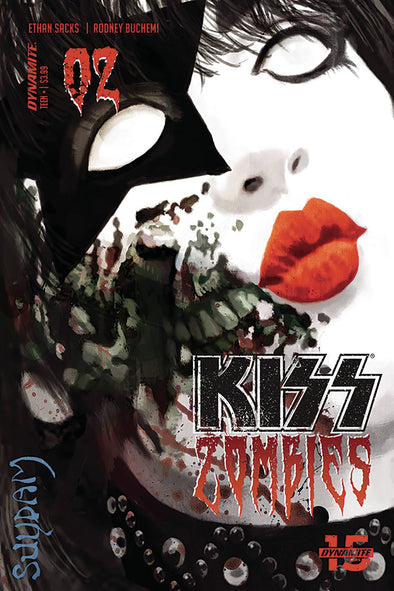 Kiss Zombies (2019) #02