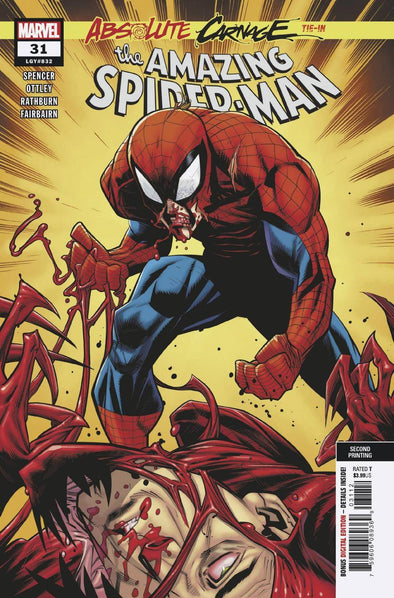 Amazing Spider-Man (2018) #031 (2nd Printing)