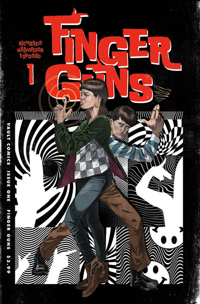 Finger Guns (2020) #01 (Tim Daniel Variant)
