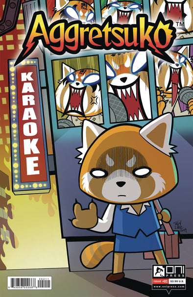 Aggretsuko (2020) #01 (Troy Little Variant)