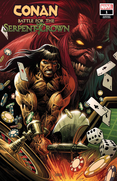 Conan Battle for the Serpent Crown (2020) #01 (Luke Ross Variant)