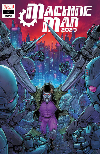 2020 Machine Man (2020) #02 (Juan Jose Ryp Variant)