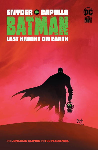 Batman Last Knight On Earth (2019) HC