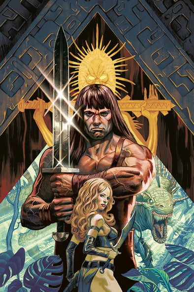 Cimmerian Red Nails (2020) #01 (Steve Morris Variant)