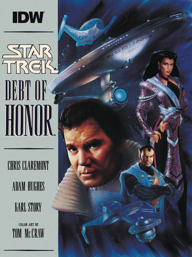 Star Trek Debt of Honor Facsimile (2021) #01