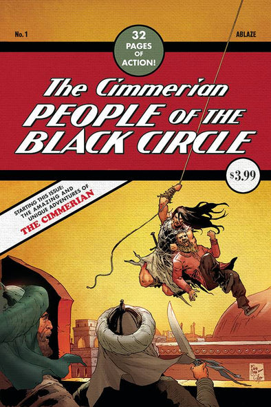 Cimmerian People of the Black Circle (2020) #01 (Fritz Casas Variant)