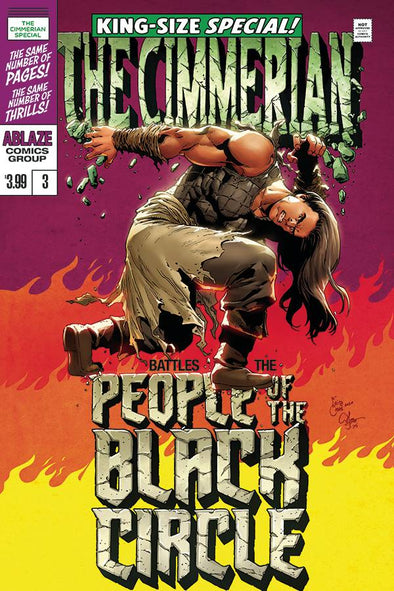 Cimmerian People of the Black Circle (2020) #03 (Fritz Casas Variant)