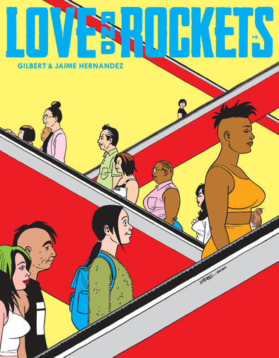 Love & Rockets Magazine #09