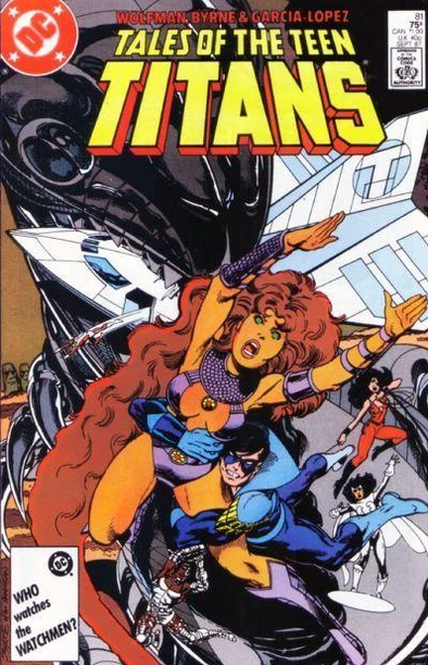 Tales of the Teen Titans (1984) #81