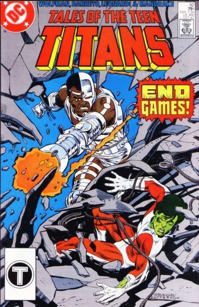 Tales of the Teen Titans (1984) #82