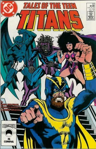 Tales of the Teen Titans (1984) #84