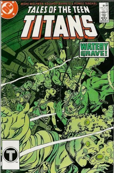 Tales of the Teen Titans (1984) #85
