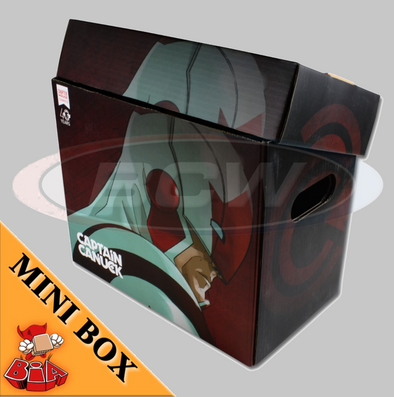 Captain Canuck Mini Short Comic Book Box