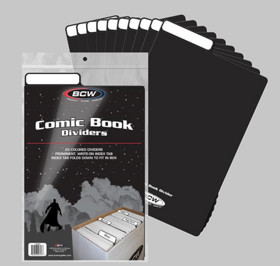 Comic Book Dividers - Black