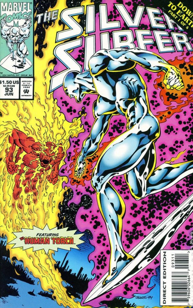 Silver Surfer (1987) #093