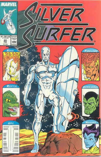Silver Surfer (1987) #020