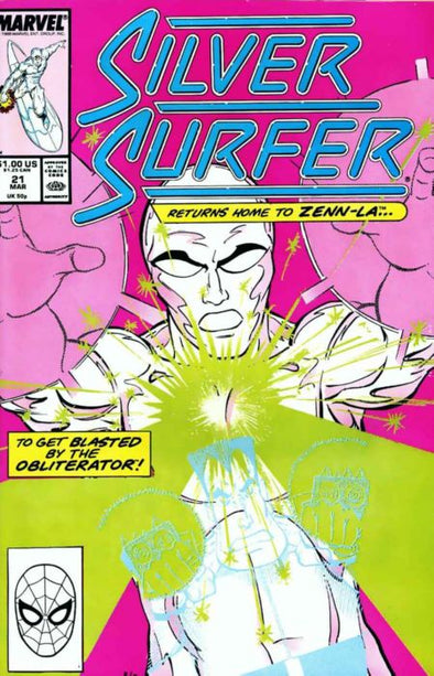 Silver Surfer (1987) #021