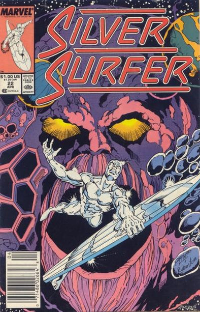 Silver Surfer (1987) #022