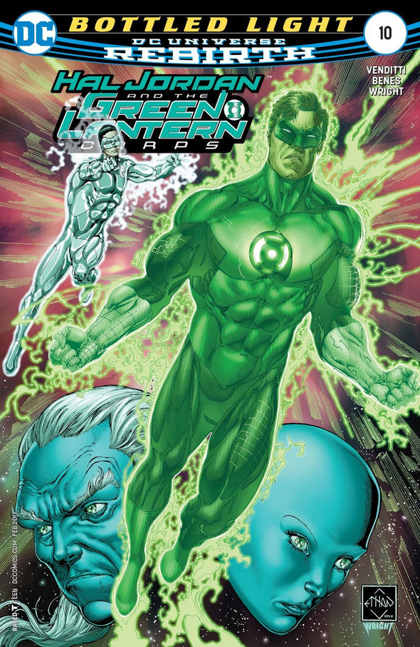 Hal Jordan and The Green Lantern Corps (2016) #10